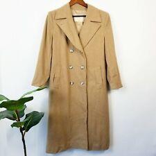 Vintage Pendleton Women's Cape Coat 100% Virgin Wool Camel Tan, Lined Size 6