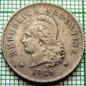 ARGENTINA 1926 10 CENTAVOS
