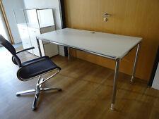 BOSSE Modul Space Design Schreibtisch, weiß, 160 x 80 cm