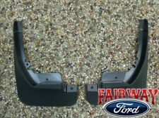 11 thru 19 Fiesta OEM Genuine Ford Molded Splash Guards Mud Flaps FRONT (pair)
