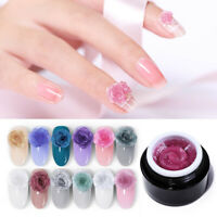 BORN PRETTY 5ml Shimmer Glitter Carve Gel Polish Soak Off UV Gel 3D Nail Art DIY