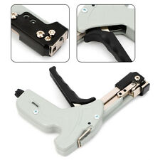 Stainless Steel Cable Tie Gun Fasten Pliers Crimper Tension Adjustable 4 Levels