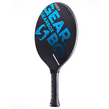 """Gearbox Classic 325 Paddleball paddle Black / Blue 3 15/16"""" Large grip 325 grams"""