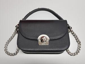 NEW PRADA Glace Calf Nero Black Leather Handbag 1BD030 Bag RRP $4050