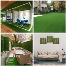 Synthetic Turf Grass Landscape Fake Mat Artificial Lawn Hedge Panel DIY Garden