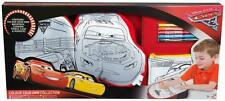 Disney Cars 3 Colour Your Own Collection Doodle Backpack Cushion Pencil Case New