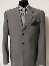Paul Smith Gray Wool 3 Button Sport Coat Blazer Size 40L