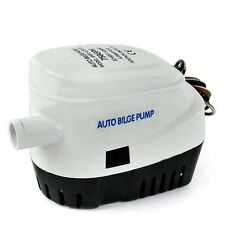 12V 750GPH Automatic Bilge Pump Auto Boat Submersible Pump Marine Float Switch