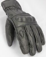 Motorbike Gloves - Knuckle Pro Genuine Leather Premium Quality & Comfortable Fit
