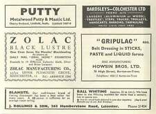 1953 Howsin Bros Burton-on-trent J Rollings Whiting Leicester Ad