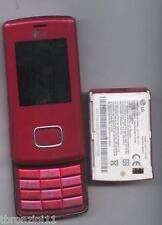 LG KG800 FUCSIA CHOCOLATE - TELEFONO CELLULARE GSM - COLLEZIONE VINTAGE