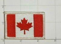 Canada Flag Patch Maple Leaf National Pride Drapeau Canadien