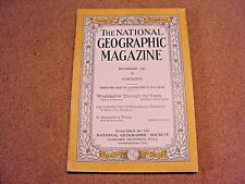 National Geographic November 1931 Washington D C In Humbold's Wake AT&T Ads