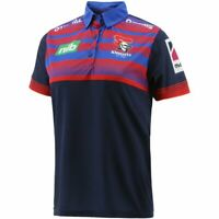 Newcastle Knights 2021 Media Polo Sizes Small - 5XL Navy NRL oneills In Stock