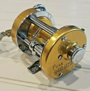 About excellent Penn 940 levelmatic casting reel