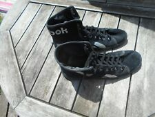 COLLECTOR BASKETS TOILE REEBOK NOIRES ARGENT  T 40,5 TBE A 16€ ACH IMM FP RED MO