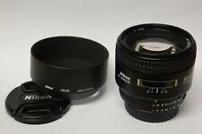 Nikon AF Nikkor 1,8 / 85 mm D Objektiv gebraucht guter Zustand