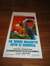 locandina,  SCI-FI Un mondo maledetto fatto di bambole G.CHAPLIN REED 1972