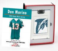 Dan Marino1995 Miami Dolphins Game Worn Jersey Mystery Swatch Box #4052182