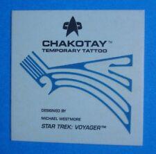 1995 Skybox *STAR TREK: Voyager* INSERT/Chase Temporary TATTOO *CHAKOTAY* *Nm*