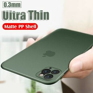 Case For iPhone 13 12 11 Pro Max 7 8 Plus Shockproof Ultra Thin Slim Phone Cover