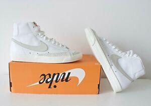 NIKE Blazer Mid VNTG '77 Weiß Sand Sneaker GR. 40.5 US 7.5 NEU & OVP BQ 6806 106