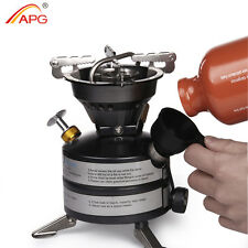 APG newest mini liquid fuel gasoline stoves and portable outdoor kerosene stove