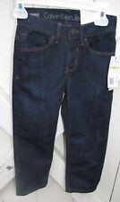 Calvin Klein Toddler Jeans Pants 3t, 4t Boys Blue black brown bottoms Fall New