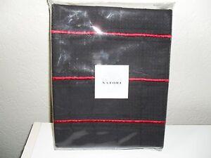 NATORI BLACK RED GEISHA EURO SHAM
