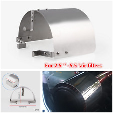Universal Stainless Steel Air Intake Heat Shield For 2.5 '' -5.5 'Air Filters