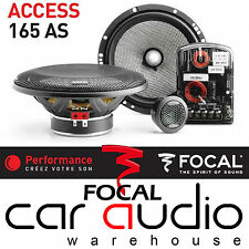 "Focal 165AS ACCESS 6.5"" 17cm 120 Watts Component Car Stereo Mid Tweeter Speakers"