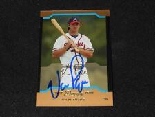 Atlanta Braves Van Pope Signed 2004 Bowman Autograph Gold Card #BDP120 TOUGH 113