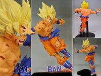 Japanese Anime Cartoon Dragon Ball Z DBZ Super Saiyan Son Goku Gokou Figure 13cm