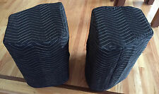 JBL PRX 412M PRX412M  Premium Padded Black Speaker Covers (2) Qty of 1 = 1 Pair!