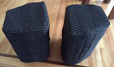 JBL PRX 412M PRX412M  Premium Padded Black Speaker Covers (2) Qty of 1 = 1 Pair!