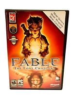 FABLE: THE LOST CHAPTERS 4 Disc PC CD-ROM - 4 Discs plus game guide - Rated M17+