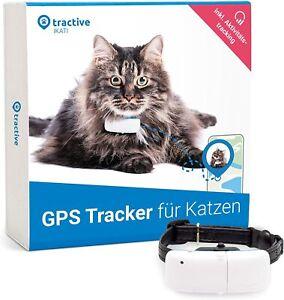 Tractive GPS Tracker für Katzen mit Halsband (2021) 24/7 GPS-Ortung *NEU&OVP*