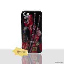 Marvel Case/Housse pour Apple iPhone 5/5s/SE/Silicone Gel/DEADPOOL BACK pose