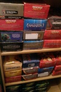 Lot d'environ 750 cartes magic the gathering co/unco