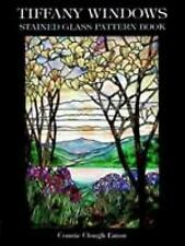 Dover Stained Glass Instruction: Tiffany Windows Stained Glass Pattern Book...