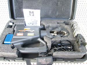 Huskie REC-3610 15 Ton hydraulic Li-Ion battery crimper Robo P die crimping tool