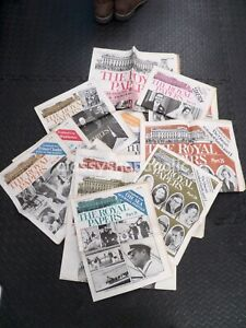 16 Vintage Daily Sketch / The Evening Times The Royal Papers 1960 ( Facsimile )