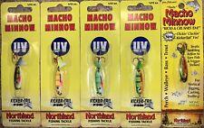 5 Macho Minnows (1/12oz) by Northland Fishing Tackle