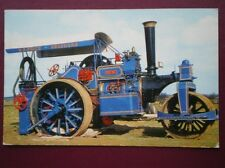 POSTCARD  FOWLER COMPOUND ROAD ROLLER NO 16007