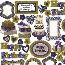 HAPPY BIRTHDAY STICKERS,TEACHERS AID,SCHOOL,KIDS,GIFT,SCRAPBOOKING
