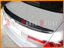 Carbon Fiber Trunk Wing Spoiler Lip For Honda Accord 8th Sedan 2008-2012