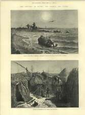 1883 The Cholera In Egypt Rotting Carcasses Fly Island Fishermen Lake Menzaleh