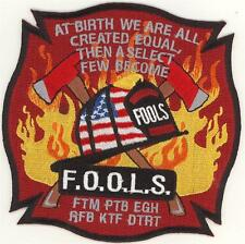 Fraternal Order of Leatherhead Society FOOLS Patch