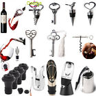 Stainless Steel Bottle Stoppers  Openers Red Wine Corkscrews Vacuum Sealed Tools