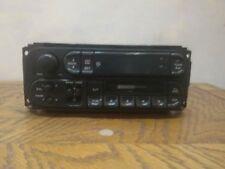 2001 Jeep Grand Cherokee Factory Radio Cassette AM FM